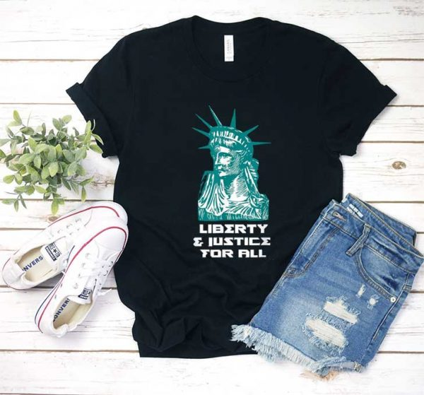 Liberty and Justice For All Graphic T Shirt