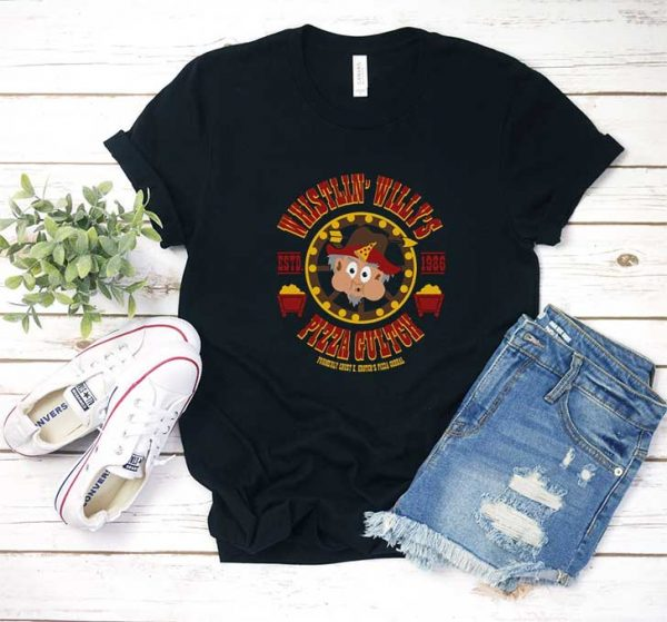 Whistlin Willys Pizza Gultch T Shirt