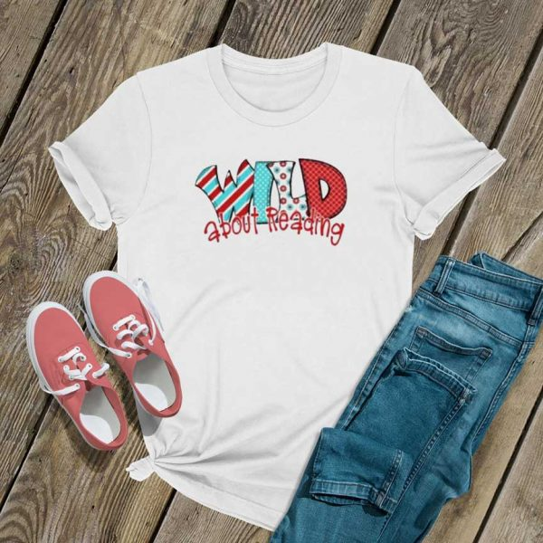Wild About Reading T Shirt