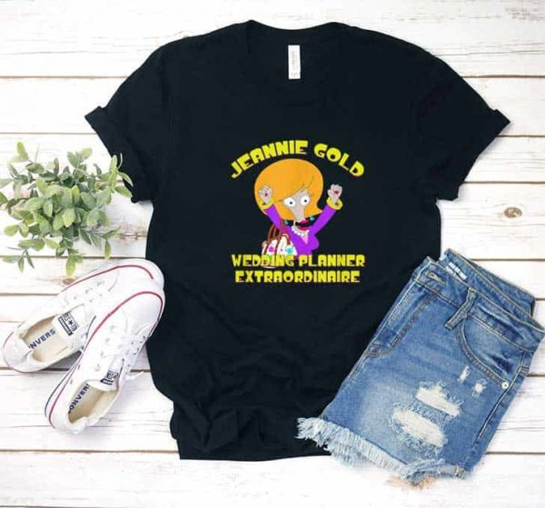 American Dad Jeannie Gold T Shirt