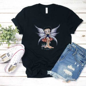 Betty Boop Mushroom Fairy T Shirt