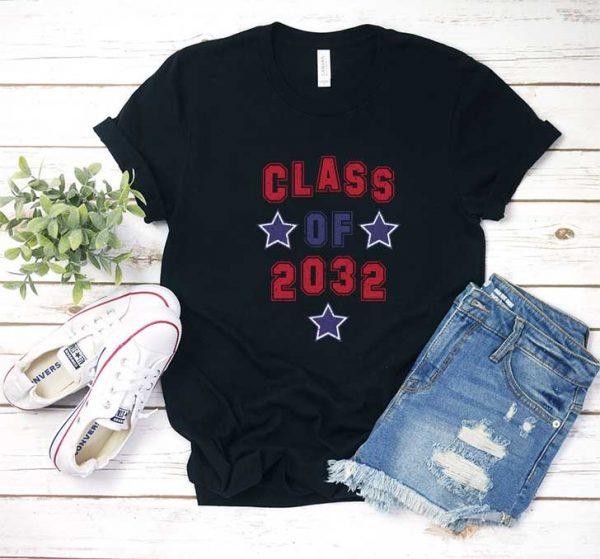 Class Of 2032 Stars T Shirt