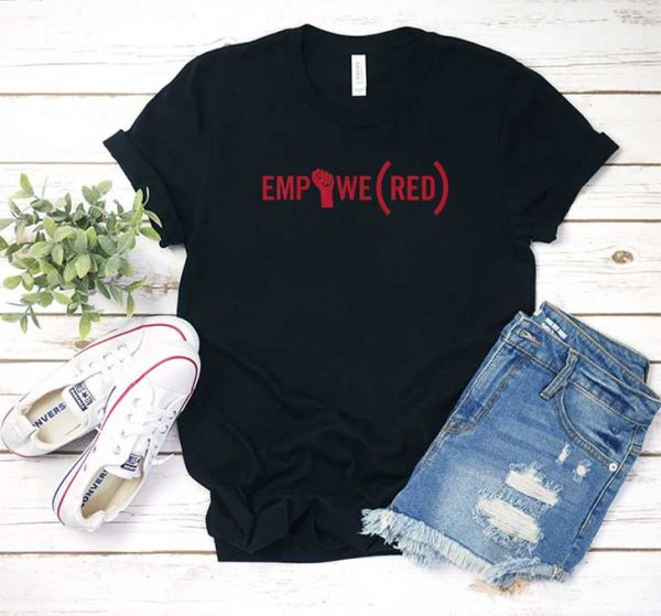 Empowe Red T Shirt