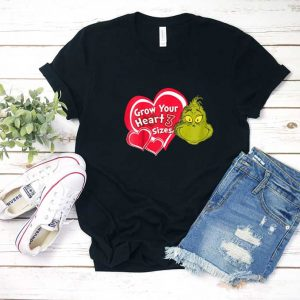 Grinch Grow Your Heart T Shirt