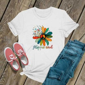 Hippie Soul Flower Lovers T Shirt