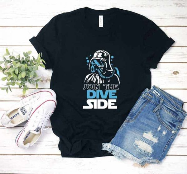 Join The Dive Side T Shirt