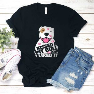 Kissed Pit Bull T Shirt