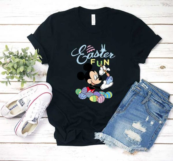 Mickey Mouse Easter Fun T Shirt