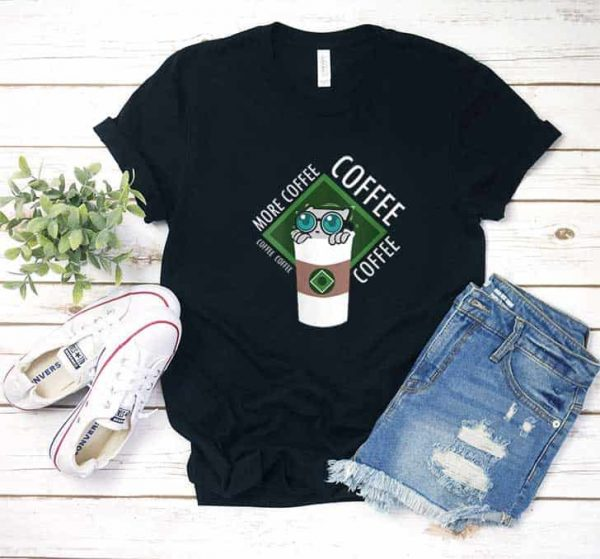 More Coffee Pilz E Shirt