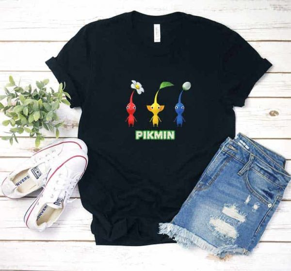 Nintendo Pikmin Trio Simple Print Shirt