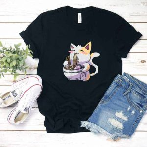 Ramen Cat Kawaii Shirt