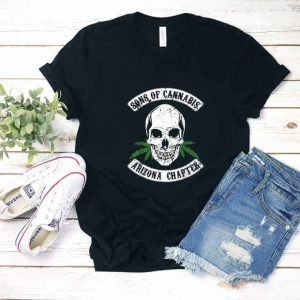 Sons of Cannabis Arizona Skull Shirt