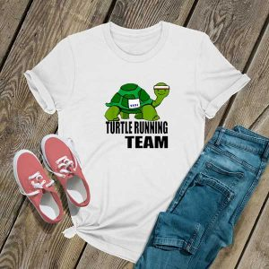Turtle Running Team T Shirt