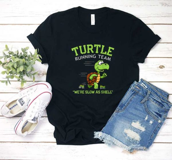 Turtle Running Team Slow T Shirt