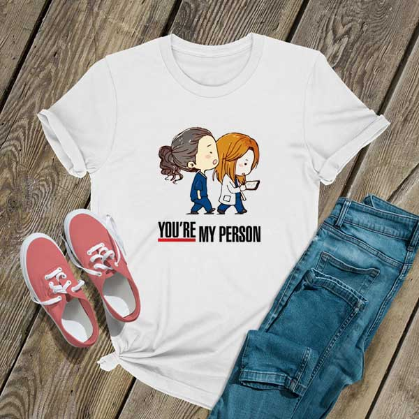 Youre My Person Chibi T Shirt